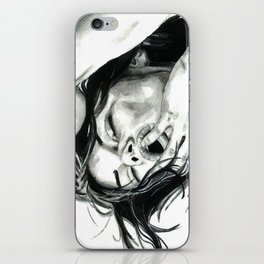 Like the world doesn't owe you a single wretched thing iPhone Skin