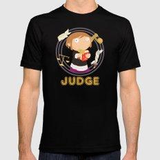 Judge Black Mens Fitted Tee MEDIUM
