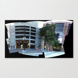 American Plaza III in Downtown Salt Lake City, September 2012 Canvas Print
