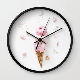 Triple Scoop Wall Clock