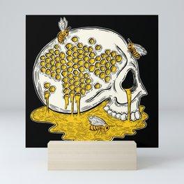 Honey Skull Mini Art Print