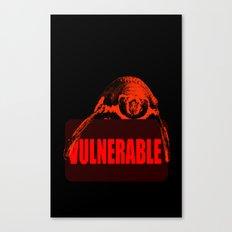Vulnerable Humboldt Penguin Canvas Print