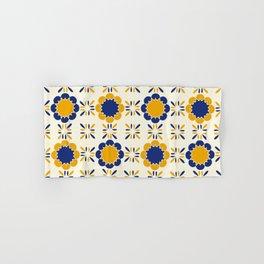 Lisboeta Tile Hand & Bath Towel