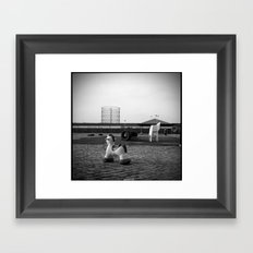 Post Atomic Urban Decadence Framed Art Print