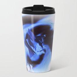 Starburts II cold blue Travel Mug