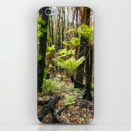 Rebirth After Bush Fire, Country Victoria iPhone Skin