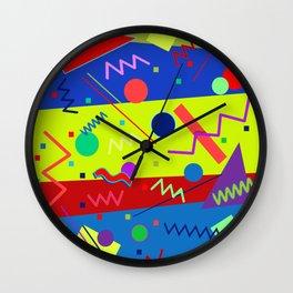 Memphis #63 Wall Clock