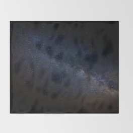 A Scar In The Sky Throw Blanket