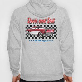 rock and roll 1950s red Hoody
