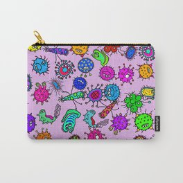 Bacteria Background Carry-All Pouch