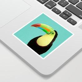 Toucan Bird - Blue Sticker