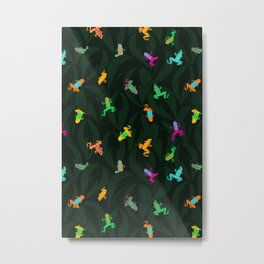 Frogs of the Jungle Metal Print