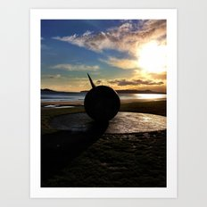 The Southern cross monument  Art Print
