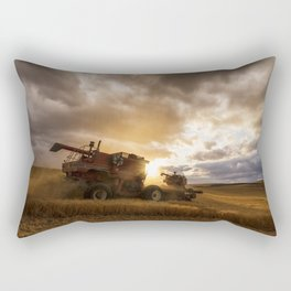 Under Threatening Skies Rectangular Pillow