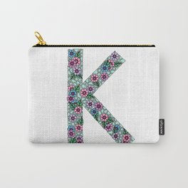 K Initial Carry-All Pouch