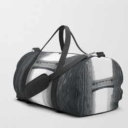 Snow Bridge in New York Duffle Bag