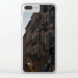 Romanticism in Madrid Clear iPhone Case