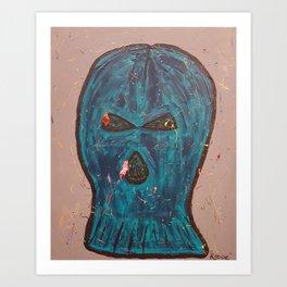 Robbie Paint Spatter Art Print
