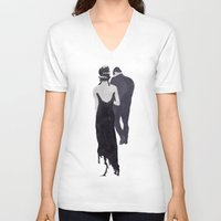 dragon ball V-neck T-shirts featuring Ball  by Ella Morton