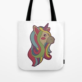Unicorn Head! Tote Bag