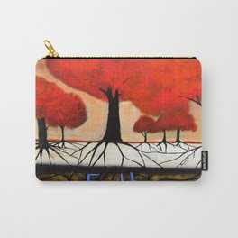 Roots--spiritual abstract painting by Saribelle Carry-All Pouch