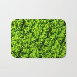 Green salad leaves Bath Mat