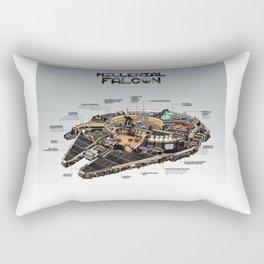 Millennial Falcon Rectangular Pillow