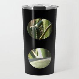 Cactus Garden Art Circles 2 Travel Mug