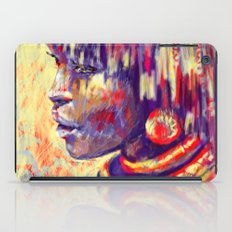 African portrait iPad Case
