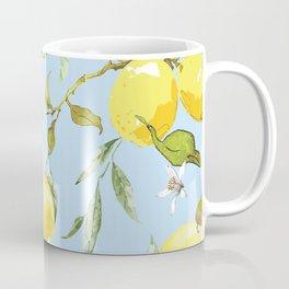 Watercolor lemons 10 Coffee Mug