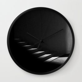 Floating Staircase Wall Clock
