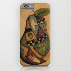 Crazy Quilt Pear iPhone 6s Slim Case