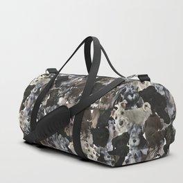 Schnauzer Collage Realistic Duffle Bag