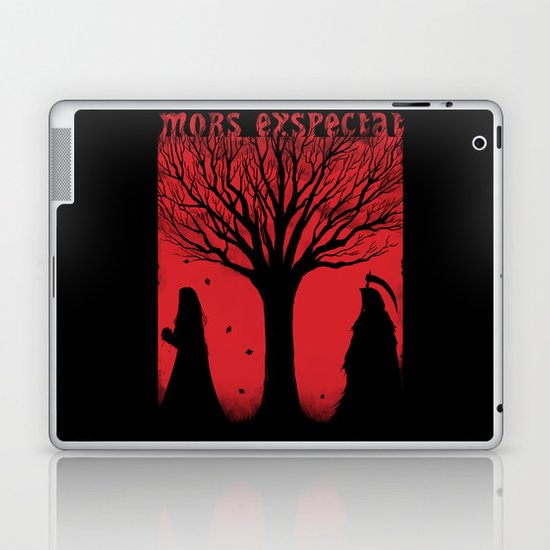 Mors Exspectat Laptop & iPad Skin