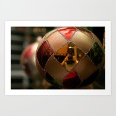 A Photographer's Christmas Greeting Art Print
