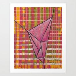 warp and weft // .01 Art Print
