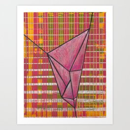 warp and weft // .01 Art Print