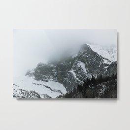 Swiss Fog VIII Metal Print