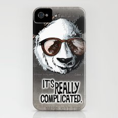 it's really complicated. iPhone (4, 4s) Slim Case