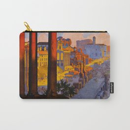 Vintage Rome Italy Travel Carry-All Pouch