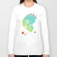 child Long Sleeve T-shirts featuring Child of Atom by Josh Ln