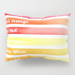 Stripy Happiness Pillow Sham