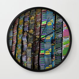 Feeling Lucky? Wall Clock