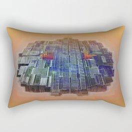 Buble Lab Robotics Space Rectangular Pillow