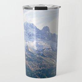 French Alps Mountains Travel Mug