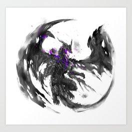 Darkeater Art Print
