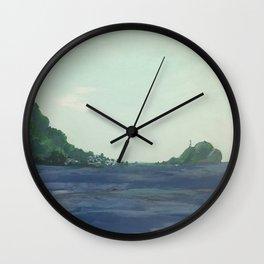 Scotts Head (Dominica #1) Wall Clock
