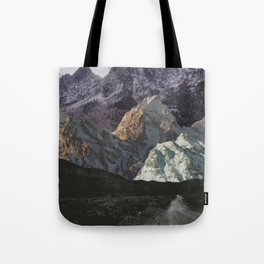Night, A Landscape Tote Bag