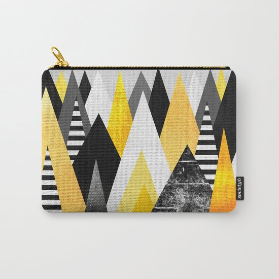 Yellow Peaks Carry-All Pouch