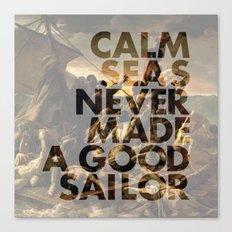 Calm Seas Canvas Print